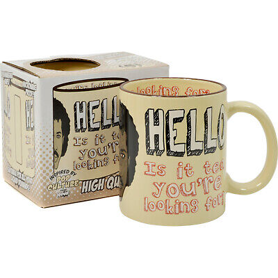 £4.95 • Buy Hello Is It Tea Your Looking For Funny Mug -retro 80s Comedy Cup Gift TEA Lover