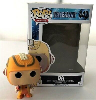 AU14.95 • Buy Funko Pop Games Valerian & The City Of A Thousand Planets #442 Vinyl Figure NEW
