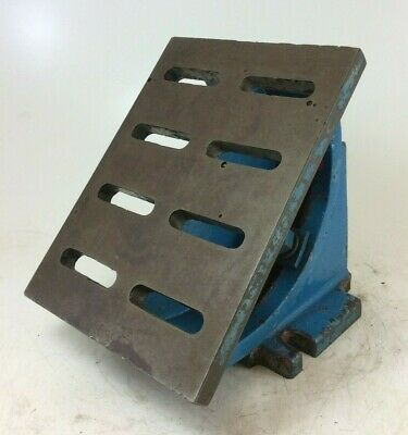 Heavy Duty Adjustable Tilting Angle Plate  | 0-90° | 12  X 9  Table | 6¾  Height • 250£
