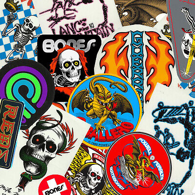 $ CDN3.62 • Buy POWELL PERALTA - Skateboard Sticker - Bones Brigade - Assorted Designs