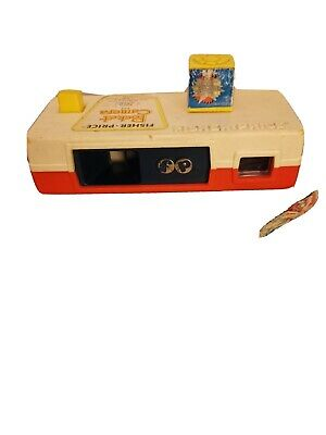 Vintage 1974 FISHER PRICE POCKET CAMERA Animals A Trip To The Zoo #464 • 4.60£