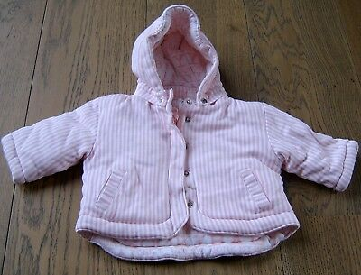 AU20 • Buy Baby Girls Pale Pink Hooded Cotton Jacket By Sookibaby Sz 0 - 6 Months