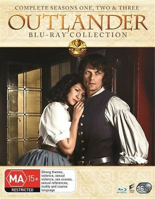 AU89.99 • Buy OUTLANDER  Season 1, 2 & 3 Blu Ray Box Set (New/Sealed) Region B