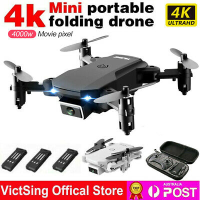 AU59.98 • Buy RC Drone 4K HD Wide Angle Real-Time Camera Wifi FPV Live Foldable Quadcopter AUS