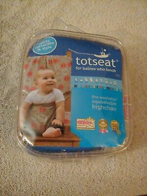 £7.20 • Buy Totseat Baby Portable High Chair Feeding Seat Infant Travel  Seat New Apple