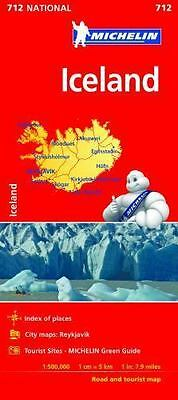 Michelin Iceland Map 750 (Michelin Map) • 8.25£