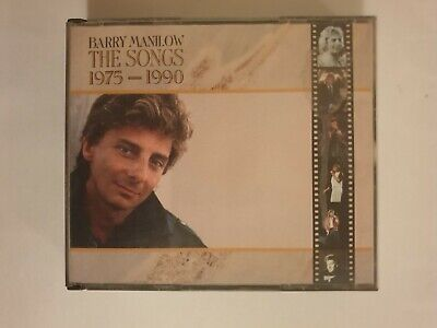 Barry Manilow The Songs 1975 - 1990 (audio Cd - 2 Disc Album) • 2.99£
