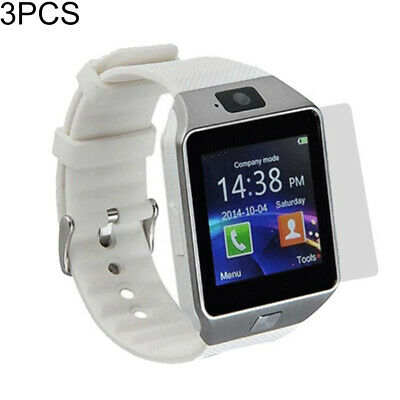 AU7.43 • Buy FT- BL_ 3Pcs For DZ09 Bluetooth Smart Watch Anti Scratch Clear LCD Screen Protec