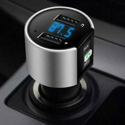 Wireless Handsfree Bluetooth USB Car Kit FM Transmitter Radio Mp3 Player Charger • 10.99£