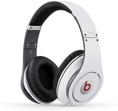 Monster Beats By Dr. Dre Studio - Wired Headphones - White • 74.95£