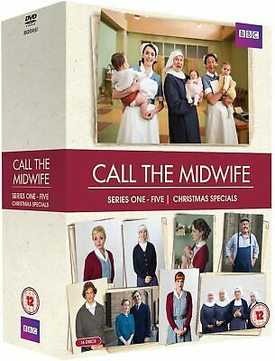 Call The Midwife - Series 1 - 5 + Christmas Specials (DVD, Boxset) • 39.99£
