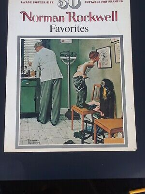 $ CDN25.99 • Buy 50 Norman Rockwell Favorite's Poster Size Book