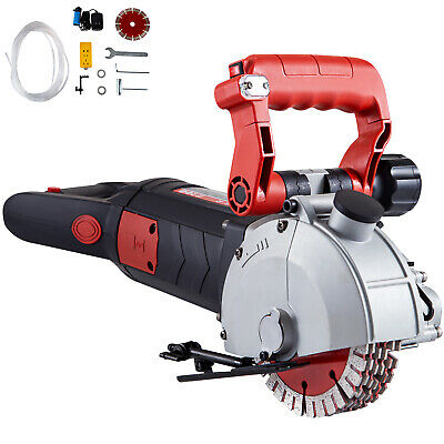 $166.41 • Buy VEVOR 160mm Wall Slotting Machine 4800W Electric Wall Chaser Groove Concrete Saw