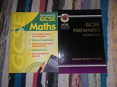 £5 • Buy X2 GCSE Maths Revision And Practise Books
