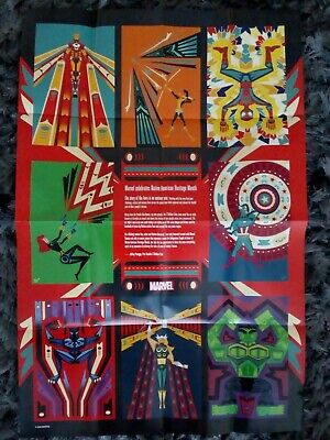 £4.95 • Buy Native American Heritage Marvel Promo Poster - 2020 Ideal Present