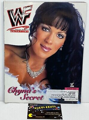 $ CDN9.50 • Buy 2000 Vintage WWF Magazine Wrestling Chyna Cover - Chris Benoit Undertaker