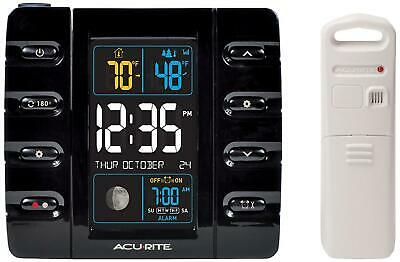 Intelli-Time Projection Clock With Outdoor Temperature And Usb Charger • 53.28£