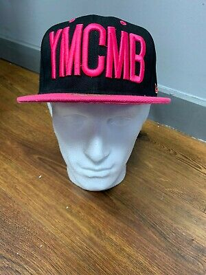 YMCMB Black And Pink Snapback • 8£