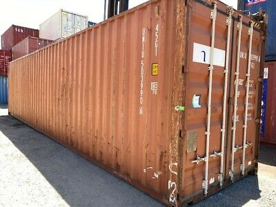 AU3900 • Buy 40ft High Cube Used Shipping Container Inc GST