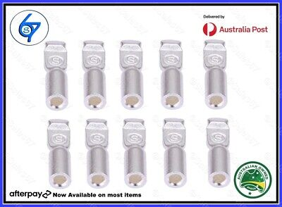 AU13.90 • Buy 10 Anderson Plug Contacts Pins Lugs Terminals (S&D) For 50 Amp Connectors 12AWG