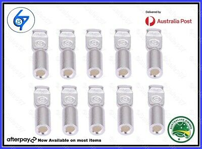 AU13.90 • Buy 10 X Anderson Plug Contacts Pins Lugs Terminals For 50 Amp Connectors 12AWG