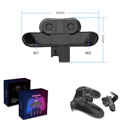 AU21.32 • Buy Extended Gamepad Rear Controller Back Button For PS4 Controller Accessories New