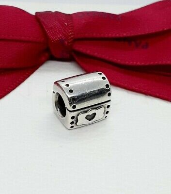 AU29 • Buy Authentic Pandora Sterling Silver Treasure Chest Charm #790425 Retired