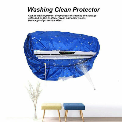 AU19.99 • Buy Air Conditioner Waterproof Cleaning Cover AC Dust Washing Clean Protector Bag