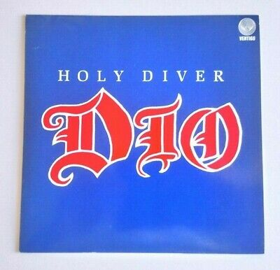 Dio - Holy Diver 7  Vinyl  Uk  Dio 1 Picture Sleeve Rare  • 20£