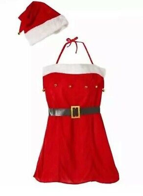 £49.99 • Buy Miss Santa Costume Mrs Claus Father Xmas Fancy Women Dress Outfit