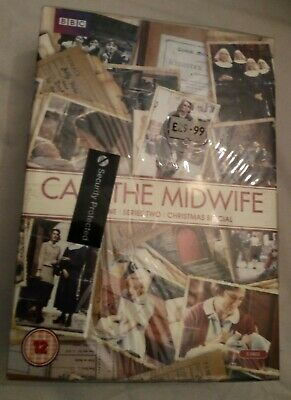 New Call The Midwife - Series 1 , 2 & Xmas Special (DVD 6-Disc Box Set) Sealed • 8.99£