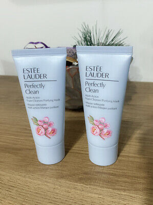 60ml Estee Lauder Perfectly Clean Multi-Action Foam Cleanser/Purifying Mask • 11.90£