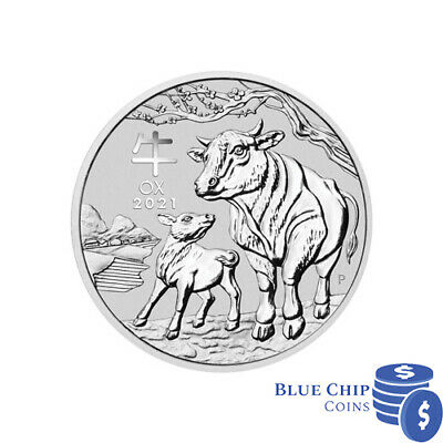 AU1499.99 • Buy 2021 $30 Year Of The Ox 1kg Silver Bullion Coin