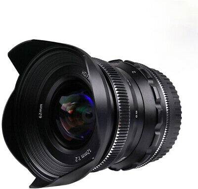 $ CDN199 • Buy PERGEAR 12mm F2 Wide-Angle Manual Lens For Sony E-Mount A3000 A5000 A6000+ Gift