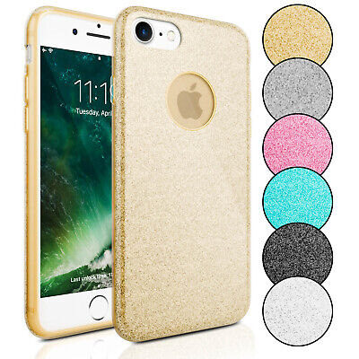 AU9 • Buy 3 In 1 Case For Apple IPhone 7 / 8 / 7 Plus / 8 Plus Rubber Strass Glitter Slim