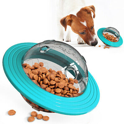Pet Puzzle Toy Food Dispenser Tough-Treat Ball  Interactive Puppy Play Toys • 9.32£