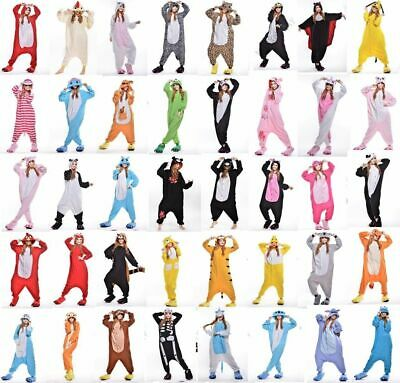 AU24.12 • Buy Unisex Adult Kids  Animal Onsie9Kigurumi PyjamasFancy Dress Onesie19 Sleepwear A