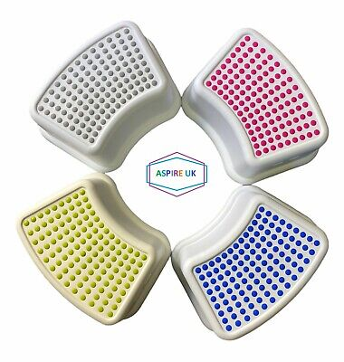 Toddler Foot Step Stool Non Slip Toilet Potty Training Child Kids White Green Uk • 6.49£