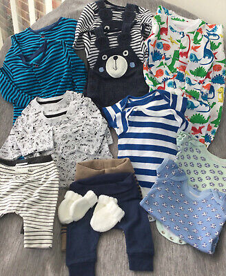 Baby Clothes Bundle Twin Boy Box 18 Items 0 - 3 Months • 22.99£