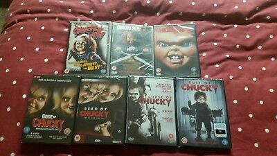 Childs Play 7 Disc Movie Collection - DVD Region 2 • 40£