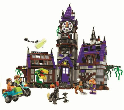 Scooby Doo Mysterious Ghost House Building Block Brick Toy Kids Boy Present • 30.70£