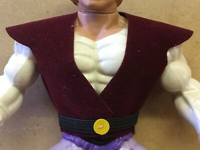 $10 • Buy MOTU Masters Of The Universe He-Man Prince Adam Repro Vest W/ Belt