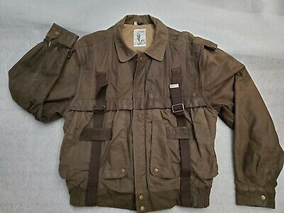 £65.41 • Buy Vintage Summit By Robert Comstock Leather Jacket Detachable Sleeves Sz 40 Soft!