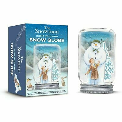 The Snowman Make Your Own Snow Globe Children's Craft Set Brand New Gift Idea • 12.95£