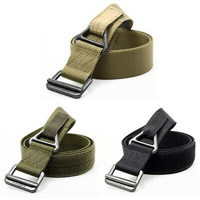 $10.54 • Buy AB_ Survival Belt Tactical Rappelling Army Military Emergency CQB Outdoor Waistb