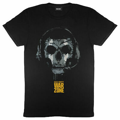 £18.99 • Buy Mens Call Of Duty T Shirt Warzone Skull Headset Official Merchandise