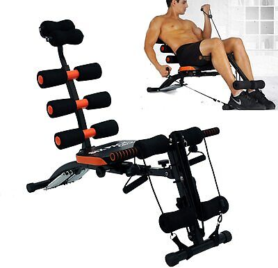£59.99 • Buy Adjustable Foldable Crunches Bench Weight Training Fitness Workout Gym Exercise