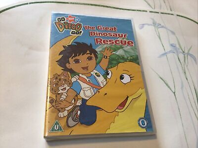 Go Diego Go , The Great Dinosaur Rescue, Dvd • 4.95£