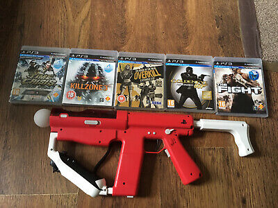 Reduced Ps3 Move Sharp Shooter Gun Bundle With Controllers Ps3 • 84.95£