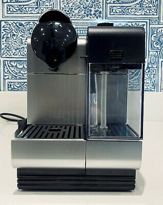 £90 • Buy Delonghi Nespresso Lattissima + Coffee Maker Silver 19 BAR